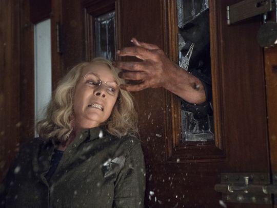 halloween jamie lee curtis - Primeras imágenes de la nueva película de Halloween y su teaser