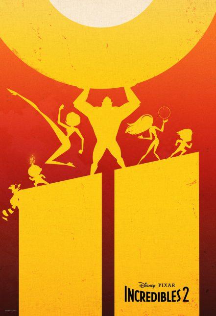 incredibles 2 poster fandango 441x645 - Nuevos Clips de Los Increíbles 2