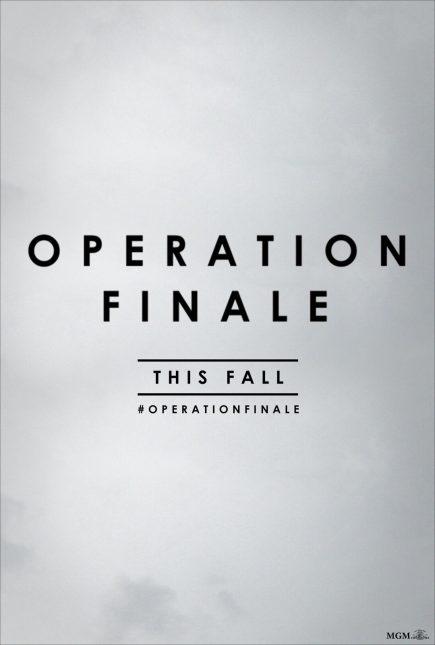 operation finale poster 435x645 - Trailer de Operation Finale con Ben Kingsley y Oscar Isaac