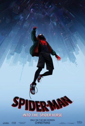 spider man into the spider verse poster 284x420 - Trailer Oficial de Spider-Man: Un Nuevo Universo