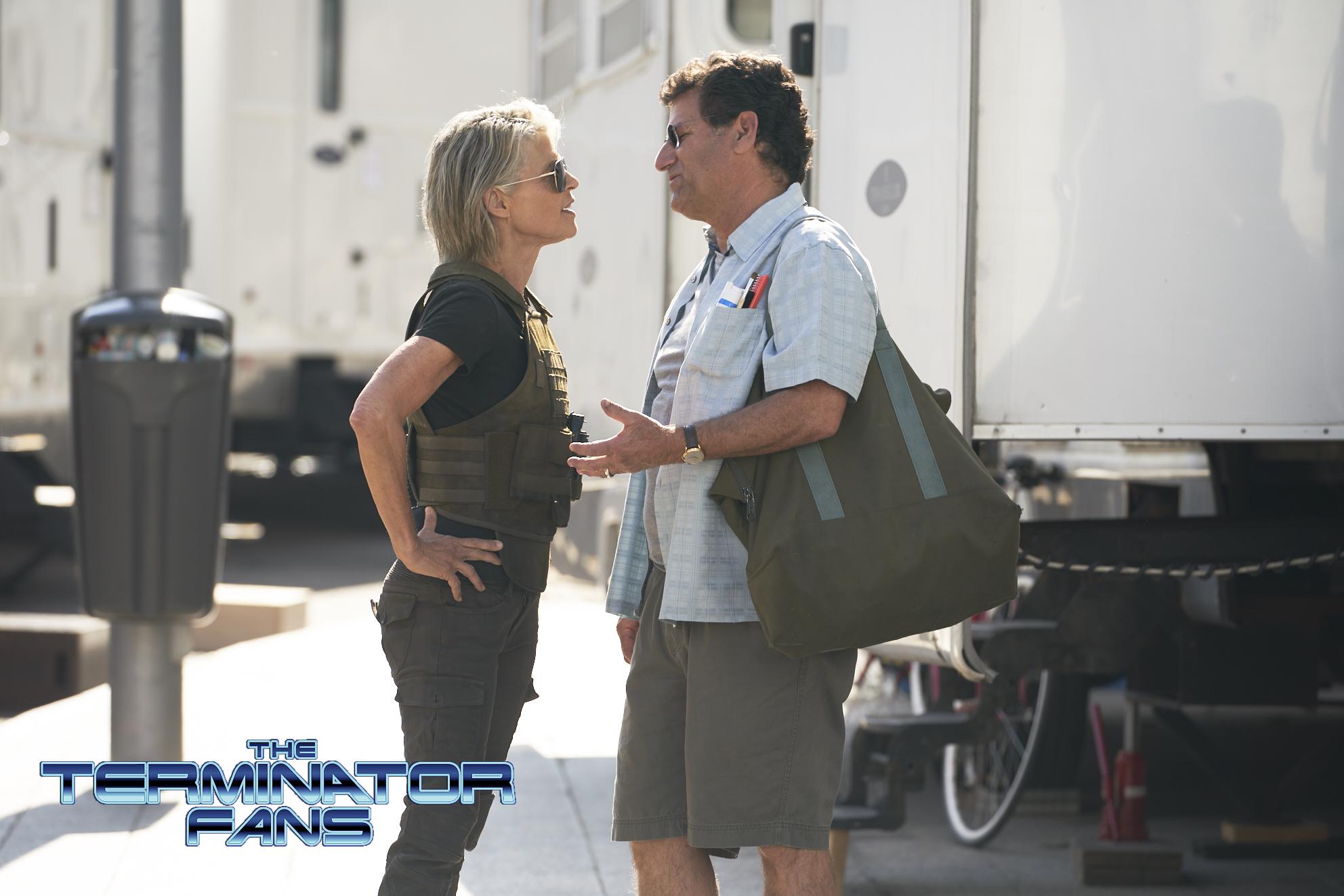terminator 6 linda hamilton 2 - Primer vistazo a Linda Hamilton en Terminator 6