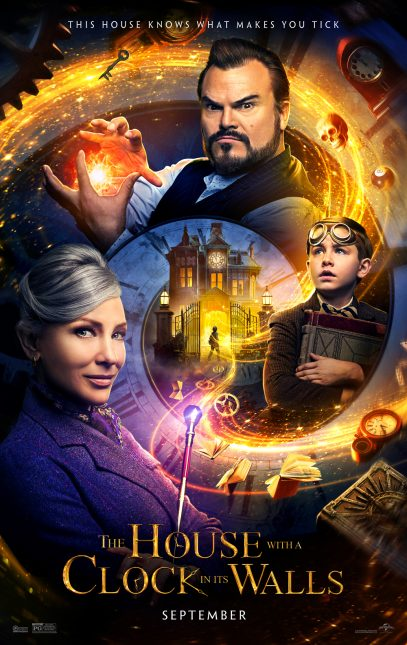 the house with a clock in its walls poster 407x645 - Nuevo trailer oficial de La Casa con un Reloj en sus Paredes