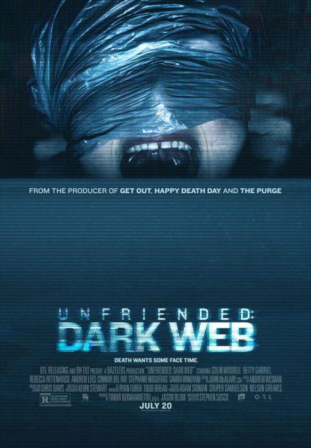 unfriended dark web poster 448x645 - Trailer de Unfriended: Dark Web
