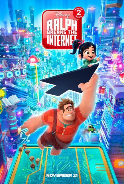 wreckiralph2 poster full 435x645 - Segundo Trailer de Wifi Ralph de Disney