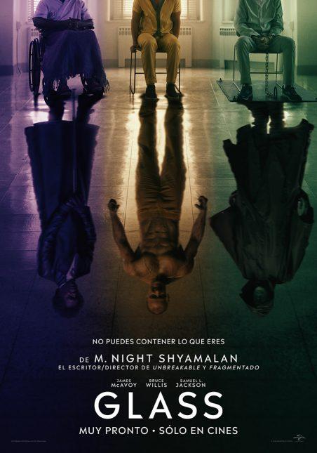 glass poster español 452x645 - Teaser Trailer de Glass