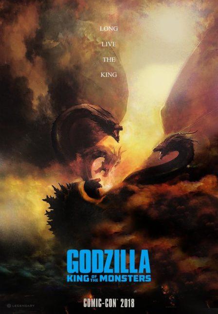 godzilla 2 poster 2 448x645 - Primer Trailer Oficial de Godzilla: El Rey de los Monstruos