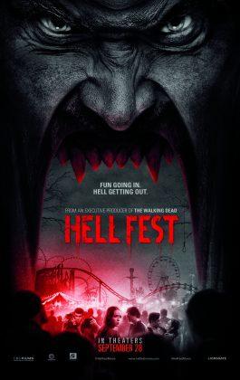 hell fest teaser poster 265x420 - Trailer de Hell Fest
