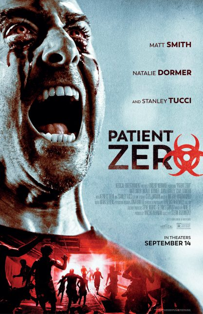 patient zero poster 417x645 - Trailer de Patient Zero con Matt Smith