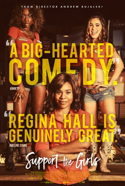 support the girls poster 435x645 - Trailer de Support the Girls con Regina Hall