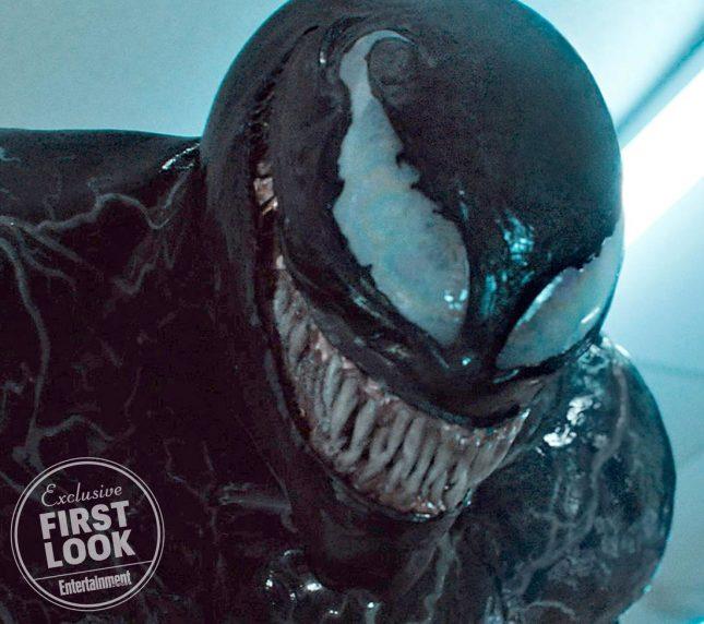 venom movie 645x572 - Dos nuevas imágenes de Venom con Tom Hardy
