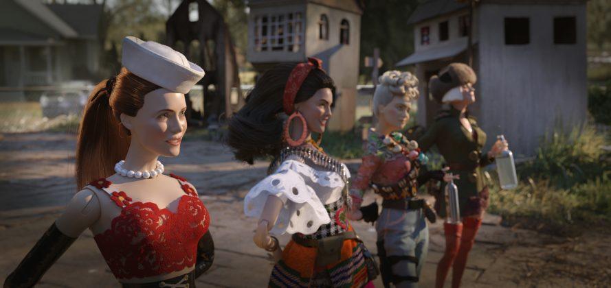welcome to marwen image 6 889x420 - Trailer de Bienvenidos a Marwen: Lo nuevo de Robert Zemeckis