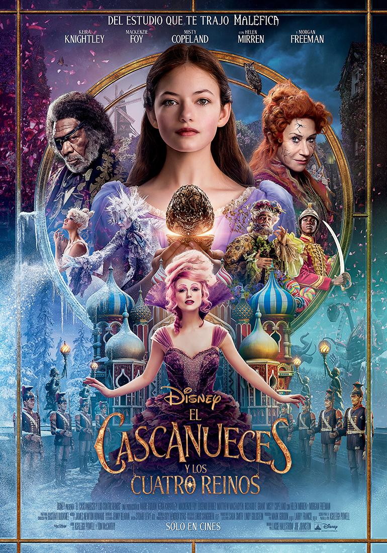 El Cascanueces y los Cuatro Reinos póster - Segundo trailer de El Cascanueces y los Cuatro Reinos
