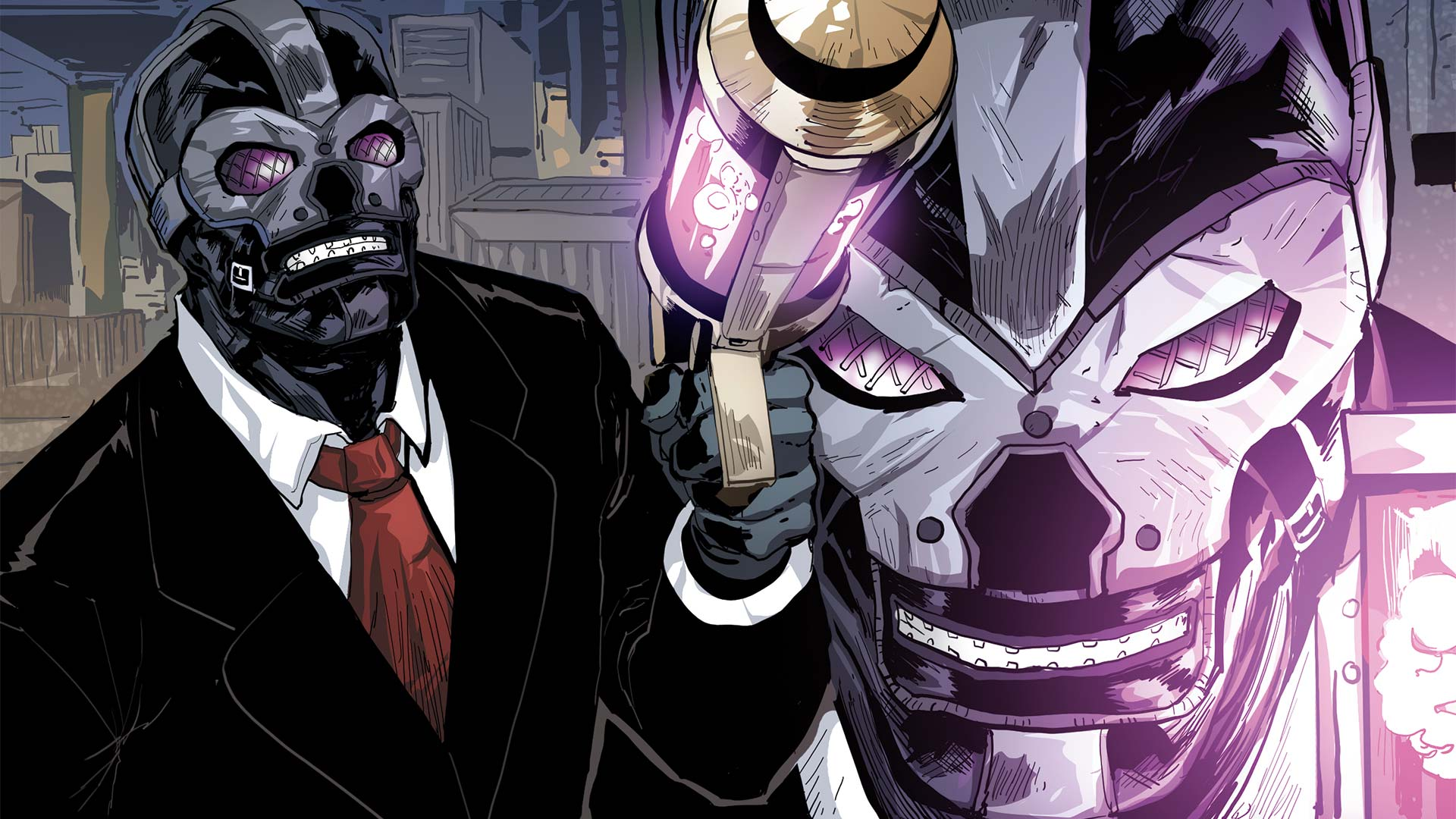 blackmask dc - Ewan McGregor será Black Mask en Birds of Prey