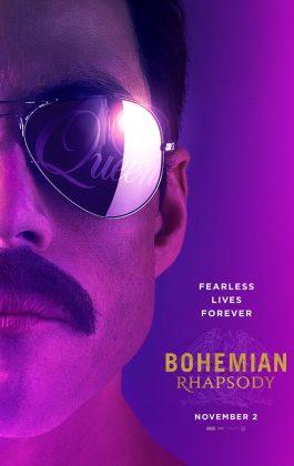 bohemian rhapsody poster 265x420 - Galería de Imágenes de Bohemian Rhapsody, La historia de Freddie Mercury