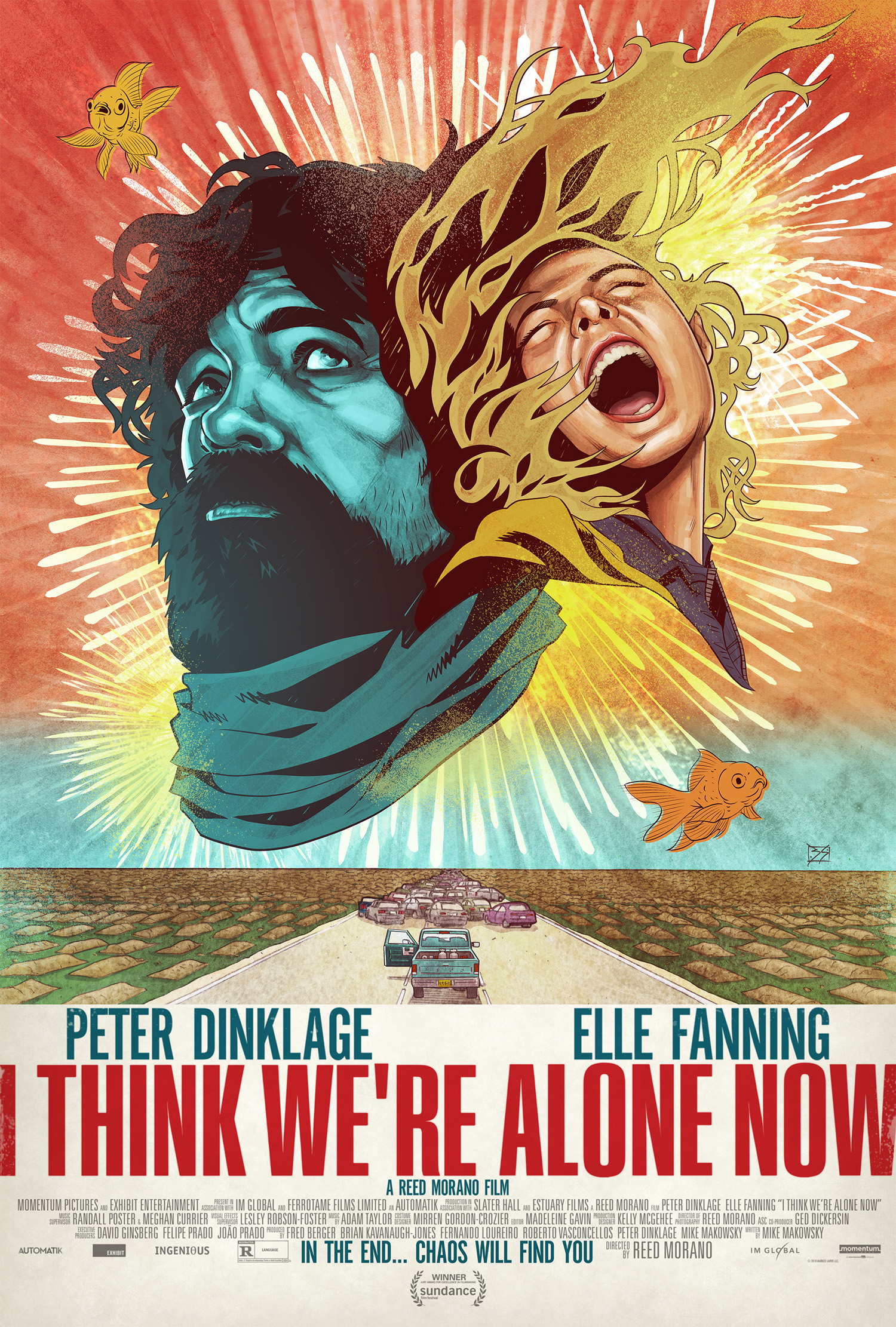 i think were alone now poster - Nuevo trailer de I Think We're Alone Now