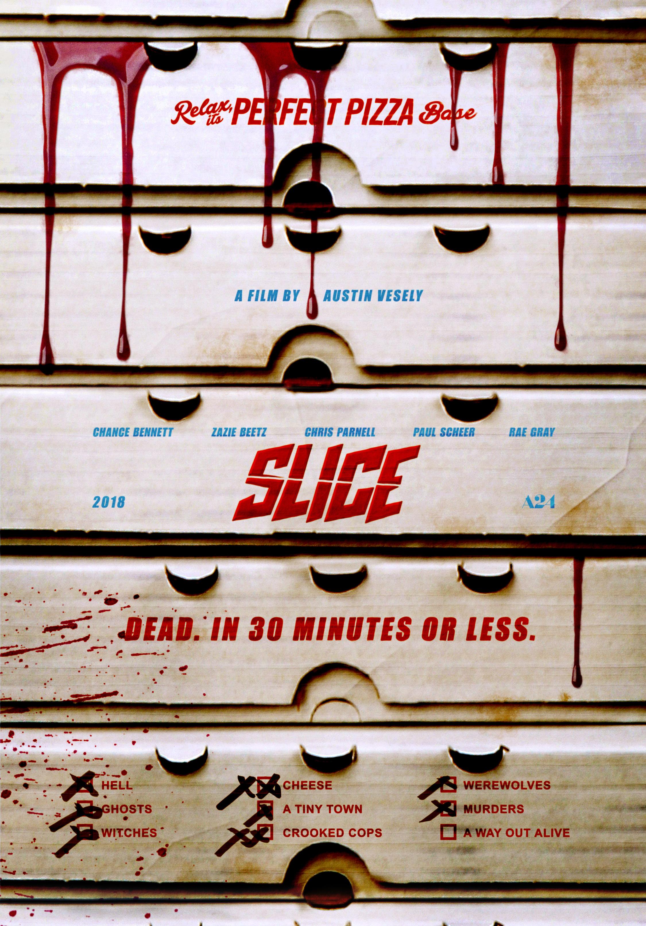 slice poster - Trailer de Slice: Una película cómica de terror