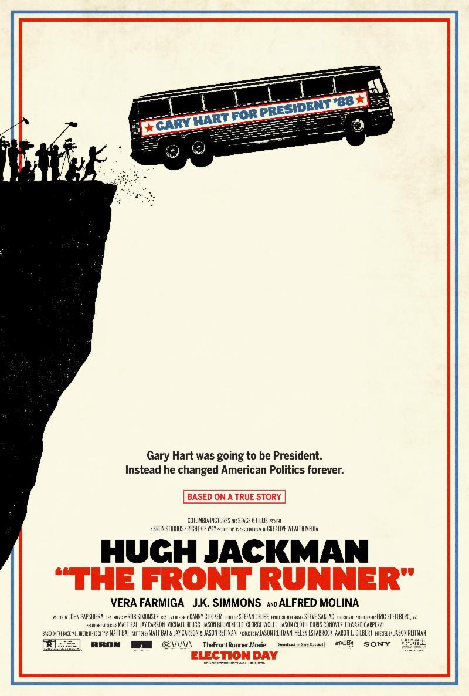 the front runner poster - Trailer de The Frontrunner: Hugh Jackman se mete en un escándalo sexual