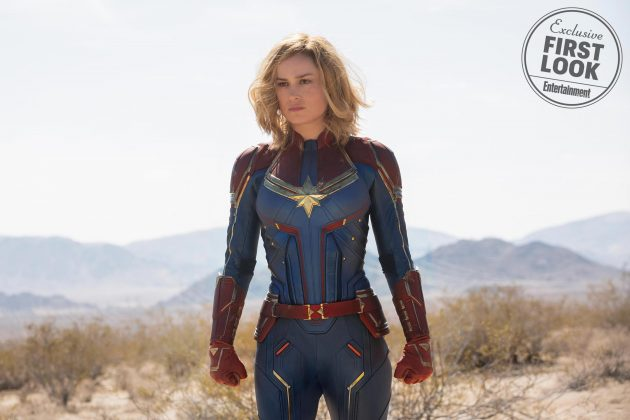 captain marvel images ew 1 630x420 - Primeras imágenes oficial de Captain Marvel con Brie Larson