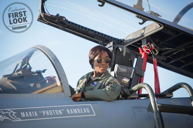 captain marvel images ew 10 630x420 - Primeras imágenes oficial de Captain Marvel con Brie Larson