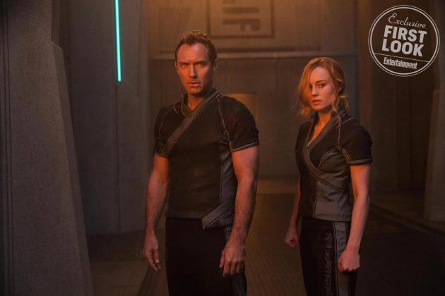 captain marvel images ew 3 630x420 - Primeras imágenes oficial de Captain Marvel con Brie Larson