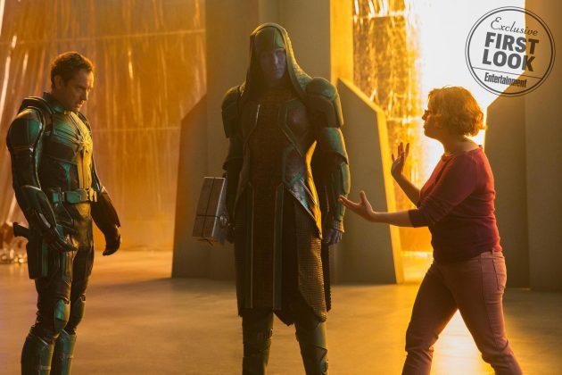 captain marvel images ew 6 630x420 - Primeras imágenes oficial de Captain Marvel con Brie Larson