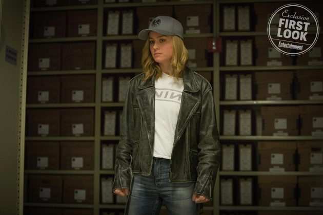 captain marvel images ew 7 630x420 - Primeras imágenes oficial de Captain Marvel con Brie Larson