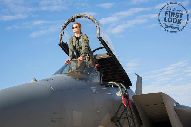 captain marvel images ew 9 630x420 - Primeras imágenes oficial de Captain Marvel con Brie Larson