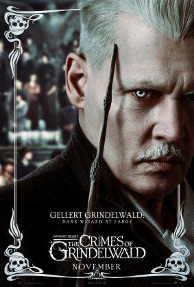 fantastic beasts the crimes of grindelwald gellert poster 283x420 - Personajes de Animales Fantásticos: Los Crímenes de Grindelwald