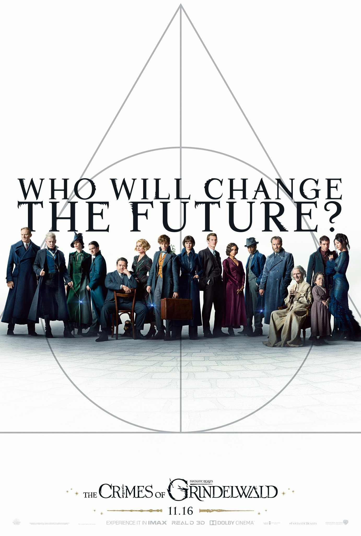 fantastic beasts the crimes of grindelwald poster - Trailer final de Animales Fantásticos: Los Crímenes de Grindelwald