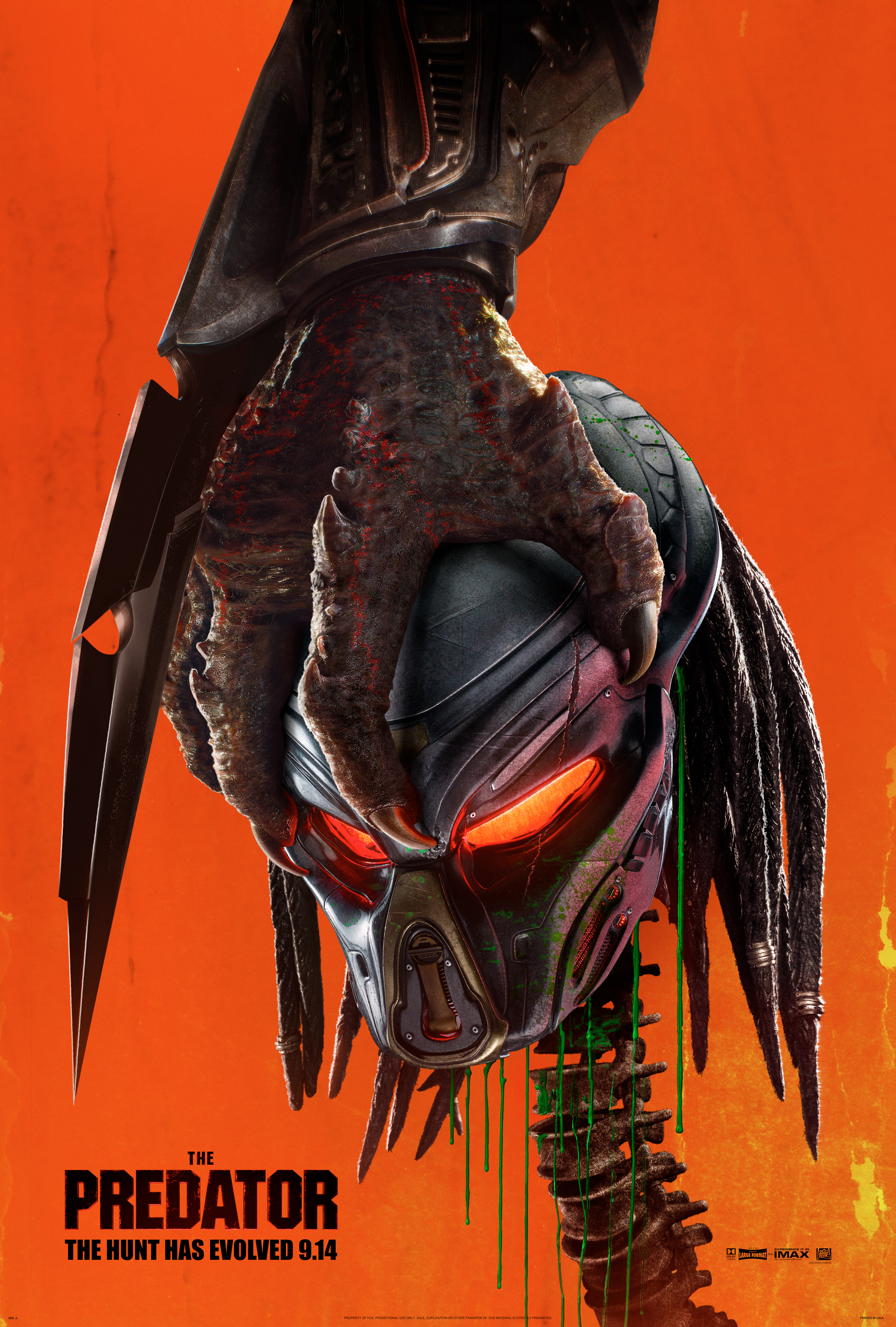 the predator poster 2 - Trailer final de The Predator