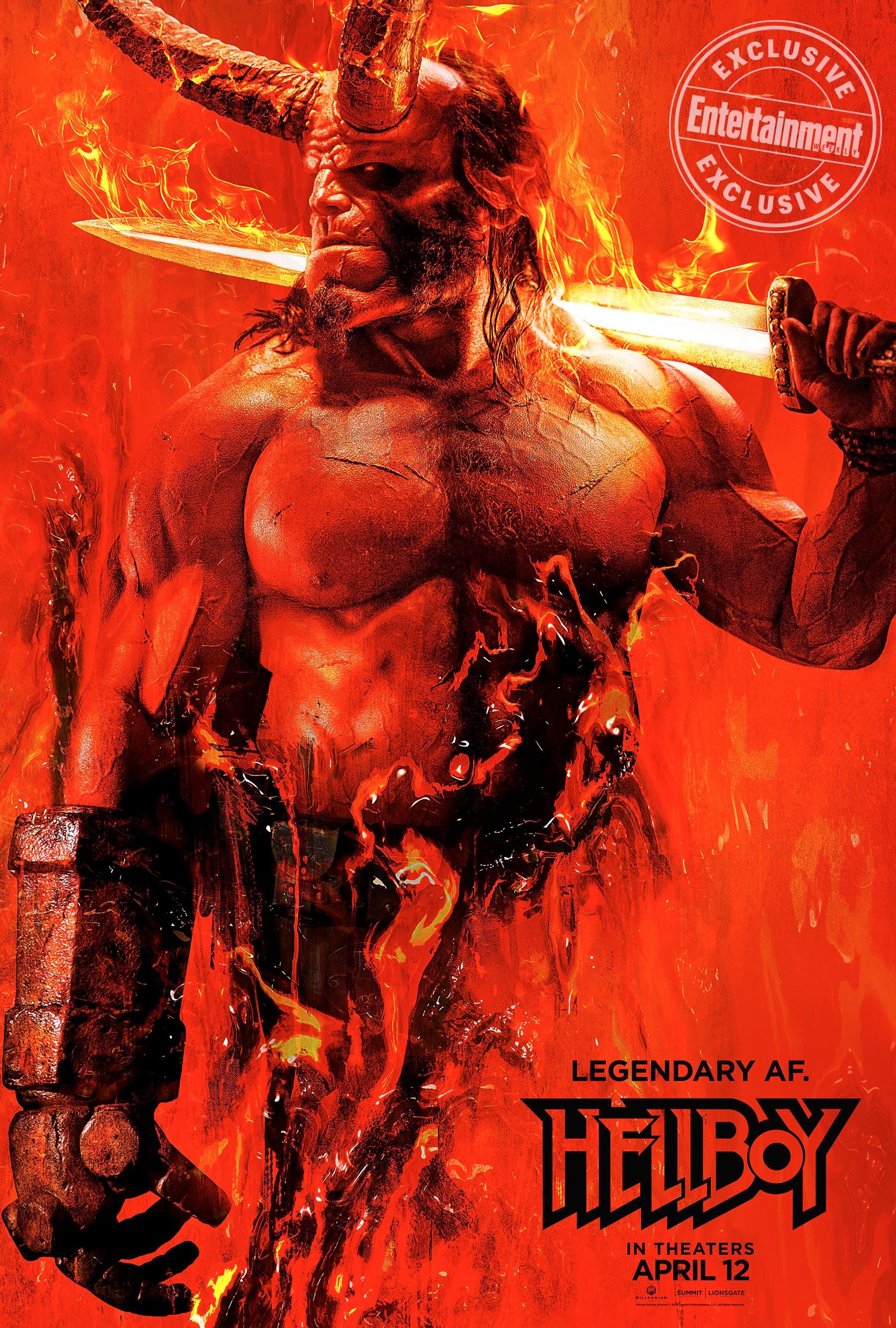 image 8 - Nueva imagen de Hellboy con David Harbour