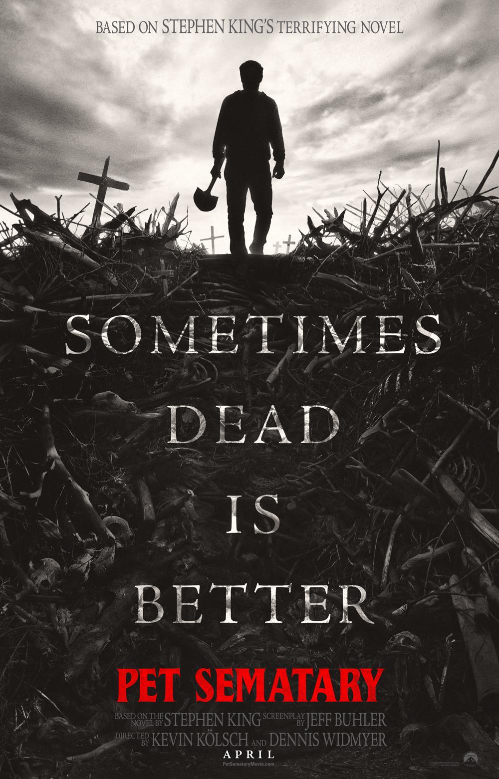 pet sematary poster - Trailer Oficial de Cementerio Maldito