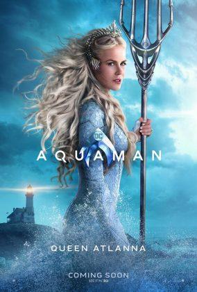 aquaman poster nicole kidman 284x420 - Los Personajes de Aquaman