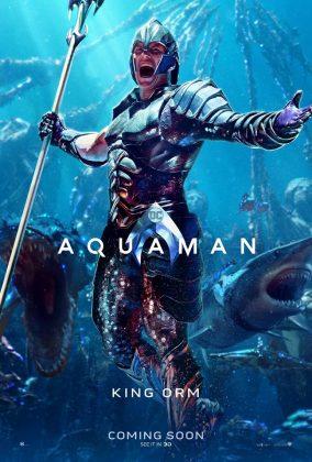 aquaman poster patrick wilson 284x420 - Los Personajes de Aquaman