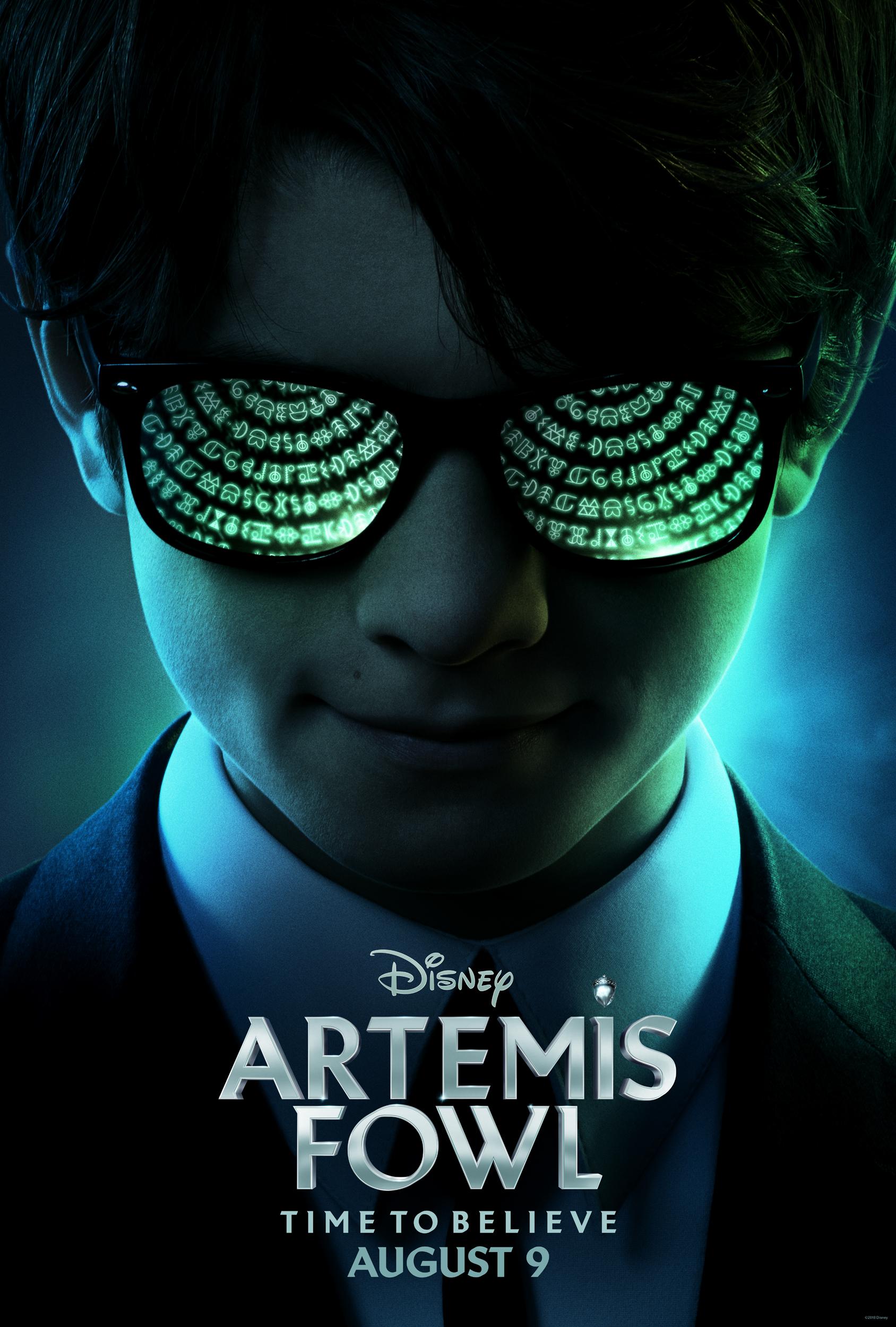 artemis fowl teaser poster - Teaser trailer de Artemis Fowl: El Mundo Subterráneo