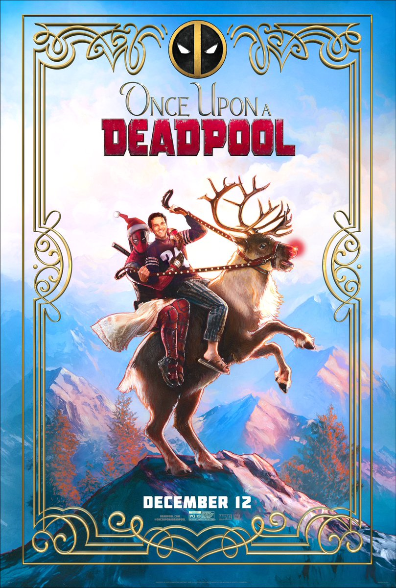 once upon a deadpool poster - Trailer de Once Upon a Deadpool
