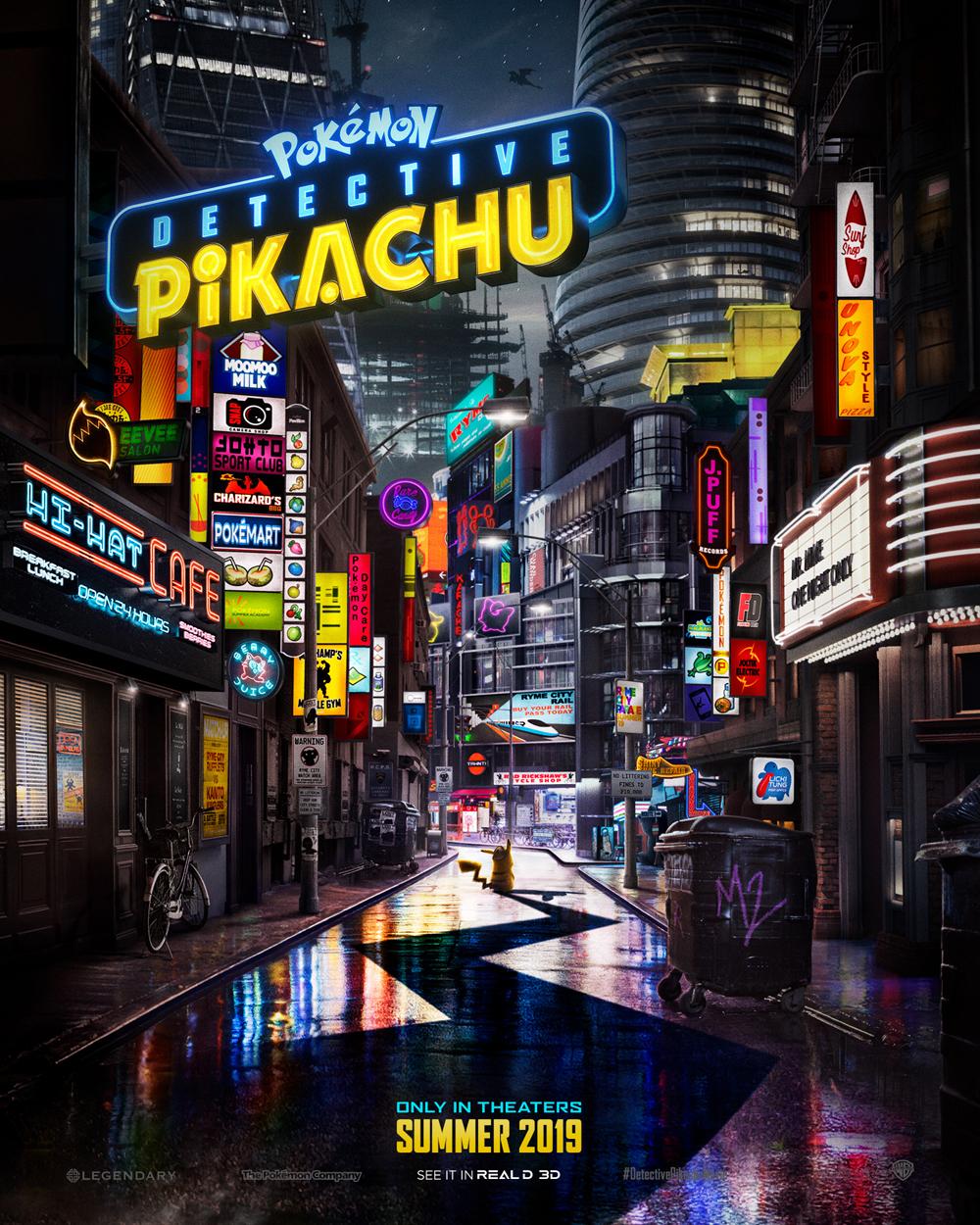 pokemon detective pikachu poster - Primer trailer oficial de Pokémon Detective Pikachu
