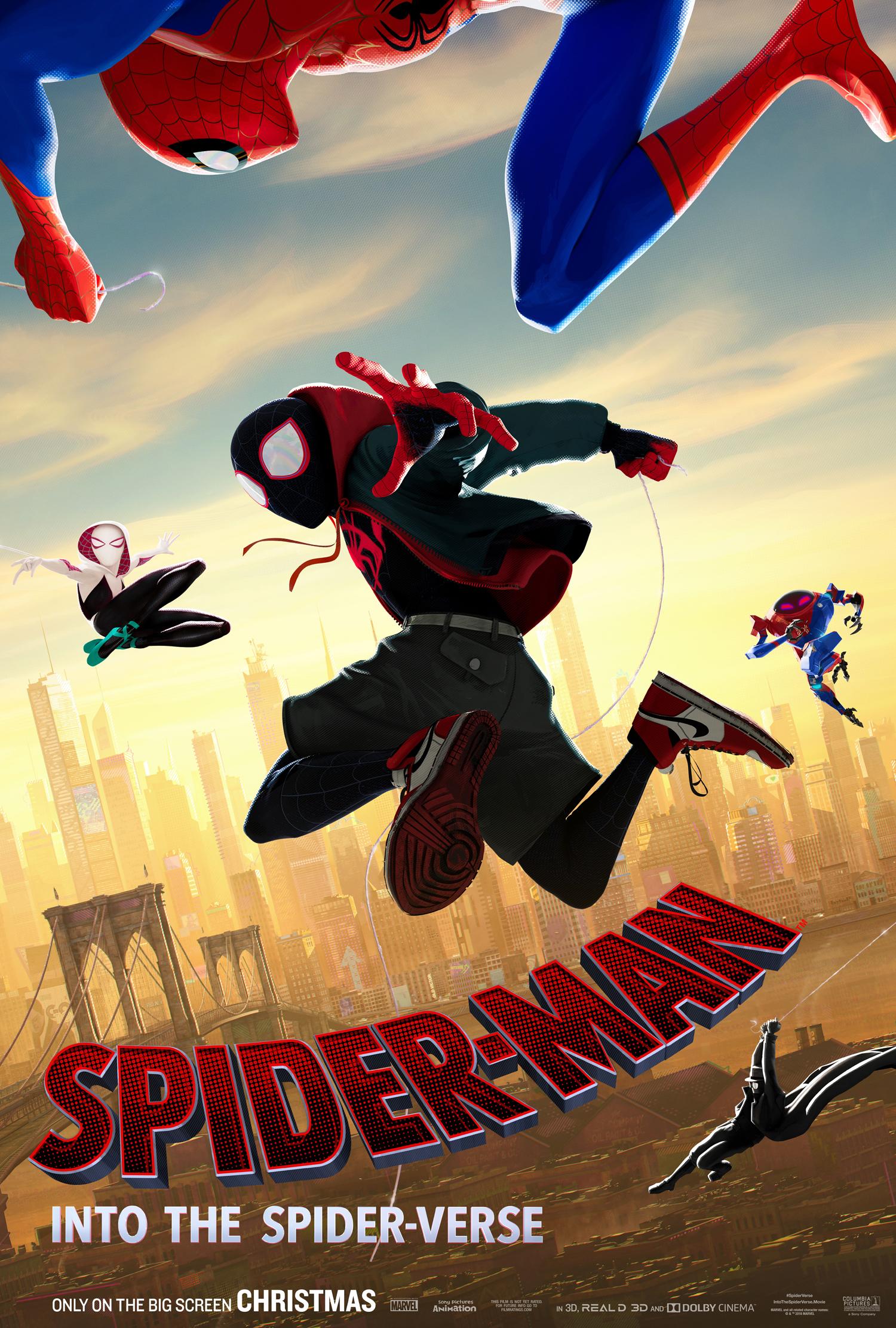 spider man into the spider verse poster 2 - Conoce a los personajes de Spider-Man: Un Nuevo Universo