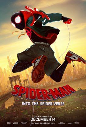 spider man into the spider verse poster miles morales 283x420 - Conoce a los personajes de Spider-Man: Un Nuevo Universo