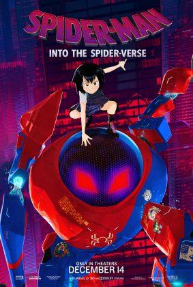 spider man into the spider verse poster peni parker 283x420 - Conoce a los personajes de Spider-Man: Un Nuevo Universo