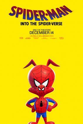 spider man into the spider verse poster spider ham 283x420 - Conoce a los personajes de Spider-Man: Un Nuevo Universo