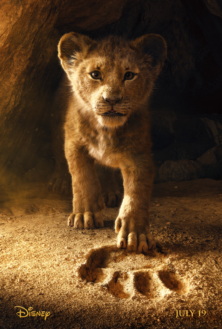 the lion king poster - Primer trailer de El Rey León