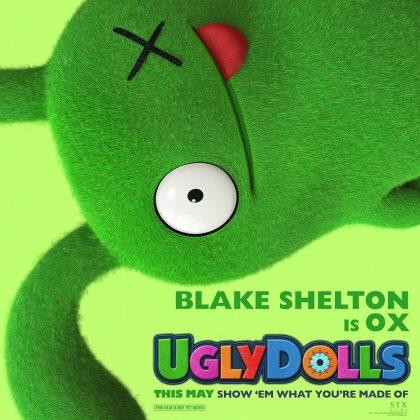 ugly dolls blake shelton 420x420 - Trailer oficial de UglyDolls