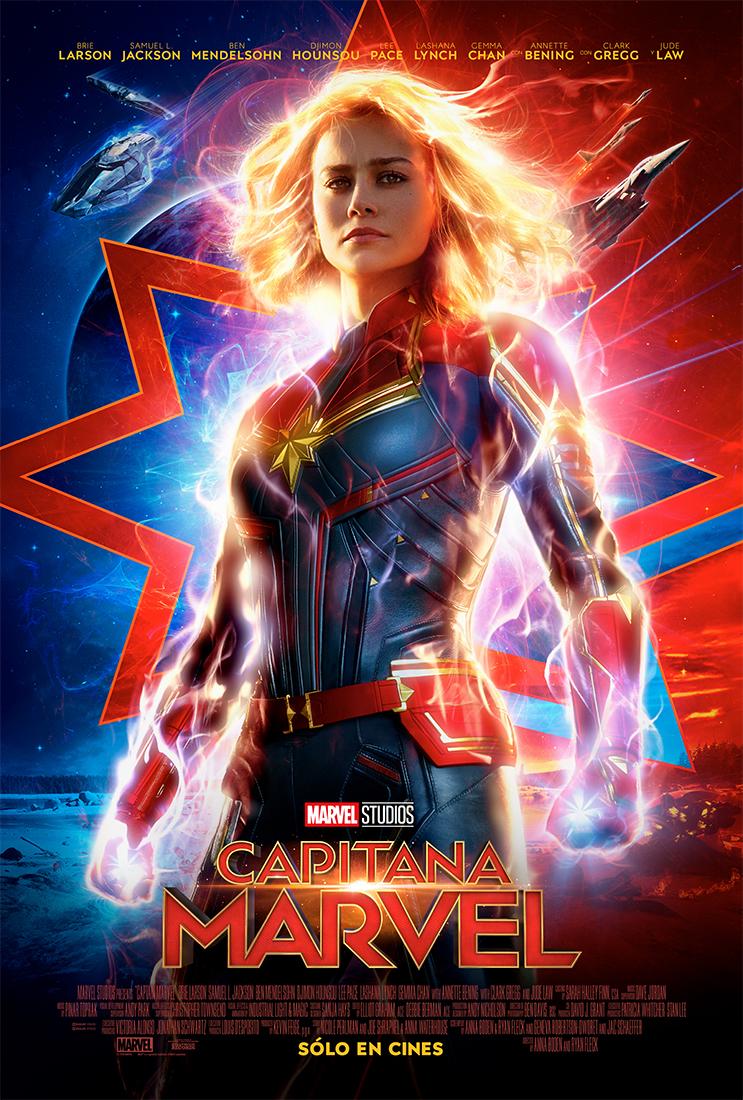 Payoff Poster Capitana Marvel - Segundo trailer oficial de Capitana Marvel