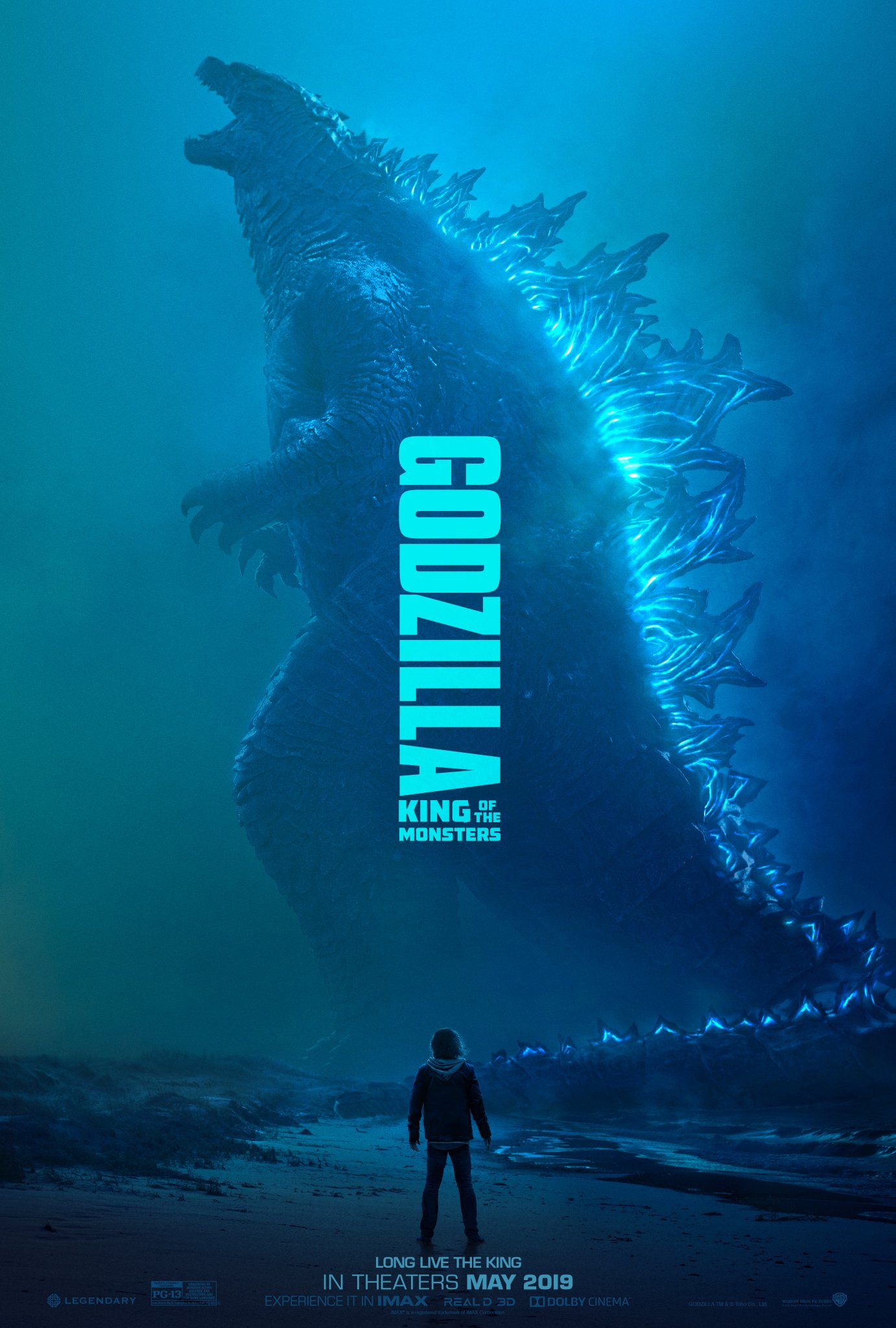 godzilla king of the monsters poster - Segundo trailer de Godzilla: El Rey de los Monstruos