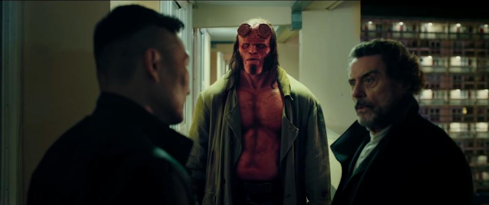 hellboy movie trailer images 24 1001x420 - Galería de imágenes de Hellboy