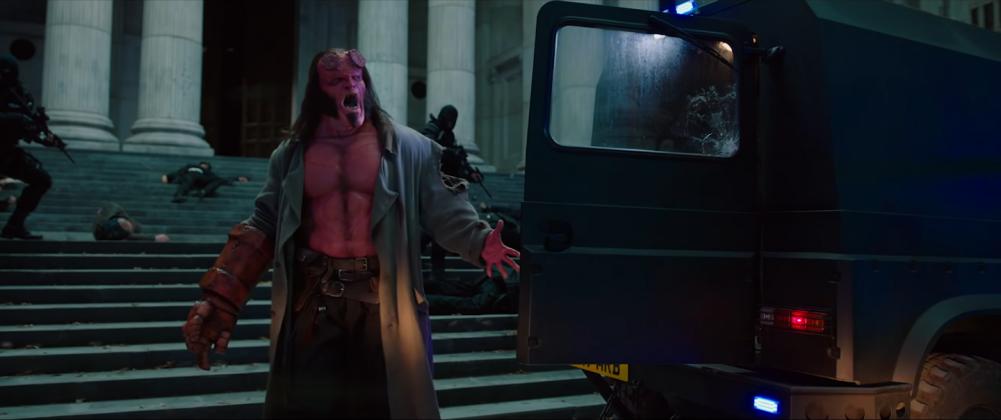 hellboy movie trailer images 3 1001x420 - Galería de imágenes de Hellboy
