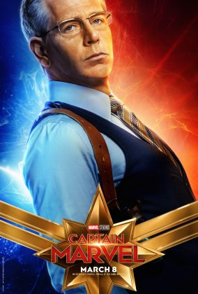 captain marvel poster ben mendelsohn 284x420 - Los Personajes de Capitana Marvel