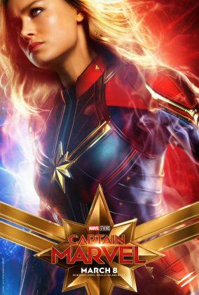 captain marvel poster brie larson1 284x420 - Los Personajes de Capitana Marvel
