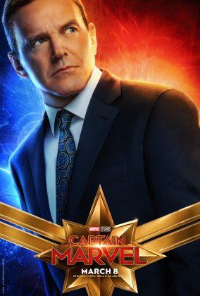 captain marvel poster clark gregg 284x420 - Los Personajes de Capitana Marvel